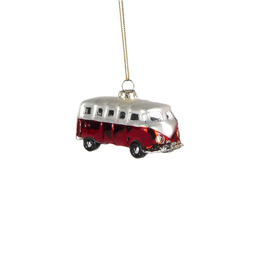goodwill mini bus rot christbaumschmuck ebay. Black Bedroom Furniture Sets. Home Design Ideas
