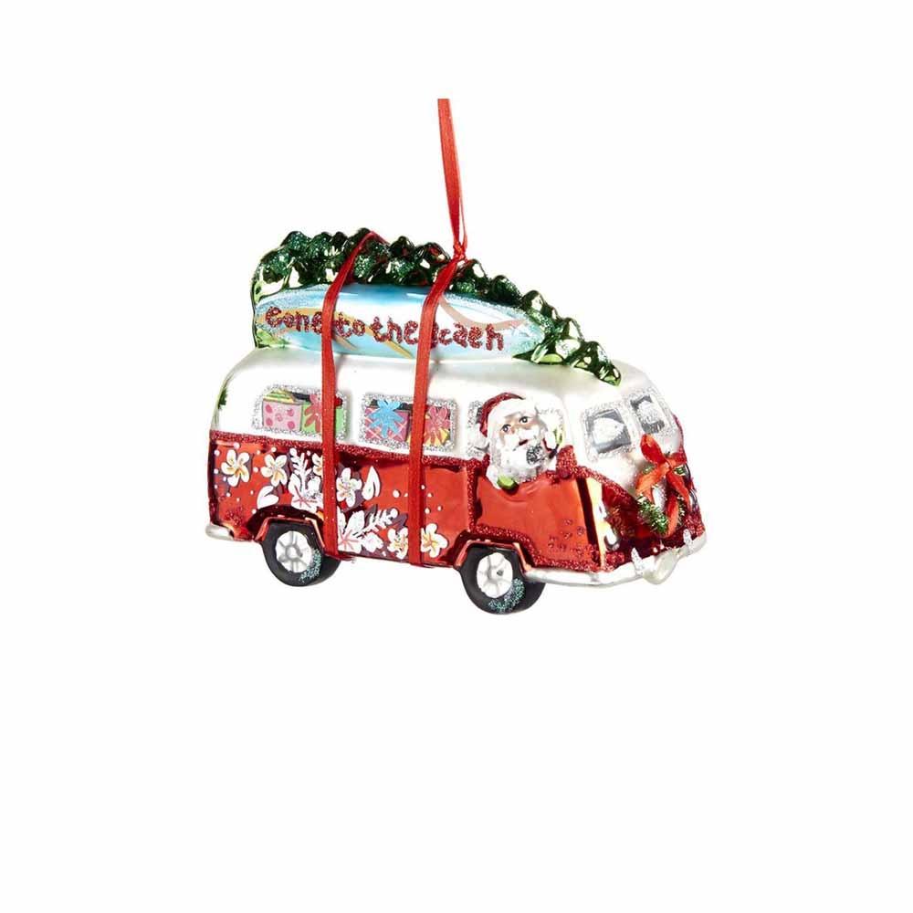 goodwill santa claus bus christbaumschmuck ebay. Black Bedroom Furniture Sets. Home Design Ideas