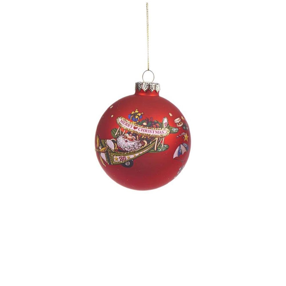goodwill weihnachtskugel ornament rot christbaumschmuck ebay. Black Bedroom Furniture Sets. Home Design Ideas