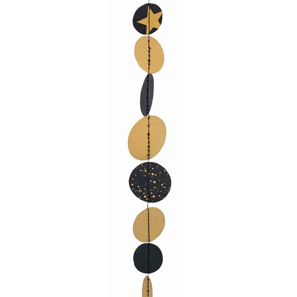 Räder Design Dekokette Black /& Gold