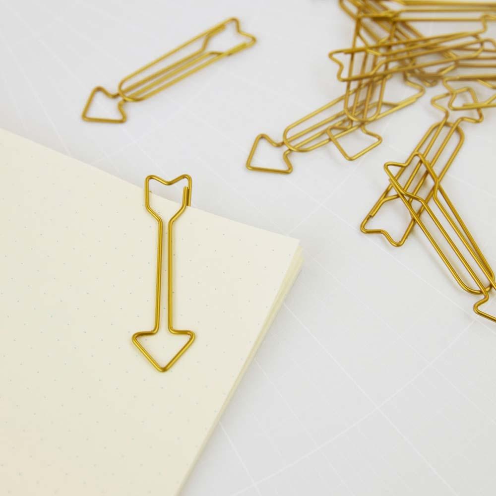 1x Paper Clip Arrow Pfeil Filofax Büroklammer Paperclip Today Marker